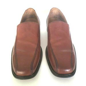 Bostonian Bolton Brown Leather Loafers Shoes 11 M